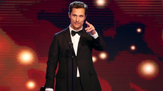McConaughey named Ford's newest spokesman