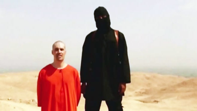 Police and spy agencies are close to identifying the English-accented militant depicted on video showing the killing of U.S. journalist James Foley, as seen above.