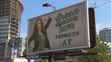 Riders billboard