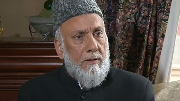 Calgary imam Syed Soharwardy is shown in this undated file photo.