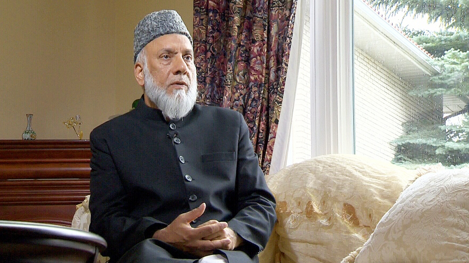 Imam Syed Soharwardy of Calgary, the founder of Muslims Against Terrorism and the Islamic Supreme Council of Canada