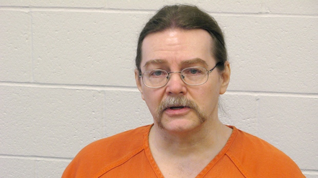 Ronald Smith is shown on Wednesday, Feb. 22, 2012, at Montanta State Prison in Deer Lodge. (THE CANADIAN PRESS/Bill Graveland)