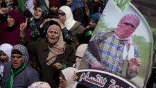 Hamas protestors
