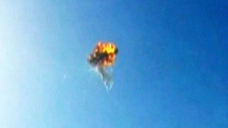 SpaceX rocket explodes during test flight over Texas