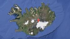 Bardarbunga volcano subglacial eruption