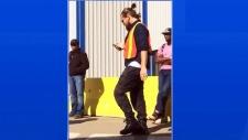 Leonardo DiCaprio in Alberta