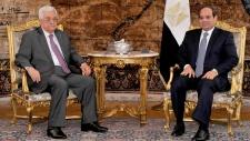 Abdel-Fattah el-Sissi and Mahmoud Abbas