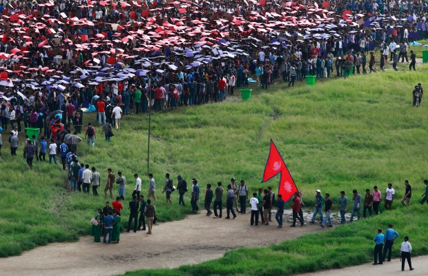 Thousands gather in Nepal in bid to set record for human ...