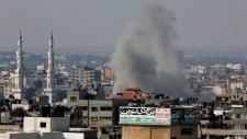 Israeli strike hits Gaza City