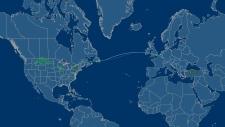 Air Canada flight makes unscheduled landing
