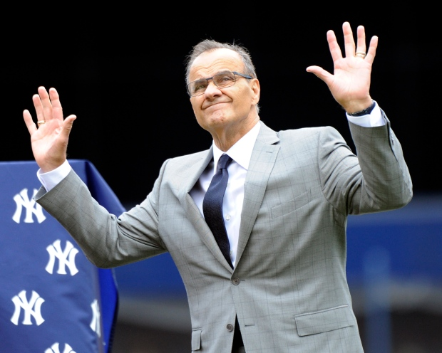 Former Yankees manager Torre retires his jersey