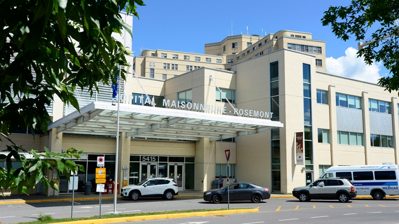 Maisonneuve-Rosemont Hospital is seen in Montreal on Saturday, August 23, 2014. A patient has been placed in isolation at a Montreal hospital after showing symptoms consistent with the often deadly Ebola virus. THE CANADIAN PRESS/Paul Chiasson