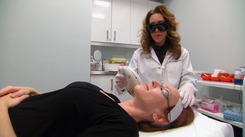 Dermatologist Dr. Lisa Kellett says she sees about three or four cases of damage caused by laser hair removal treatments per week.
