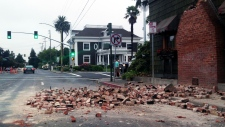 California earthquake: damage, panic in Bay Area