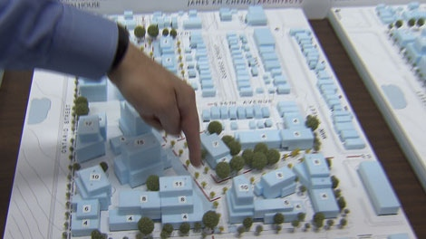 A development proposal for the Little Mountain site was presented to the public on Saturday, July 9, 2011. (CTV)
