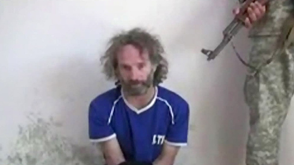 U.S. journalist Peter Theo Curtis has been freed from militants in Syria after two years, the U.S. government confirmed Sunday, Aug. 24, 2014.