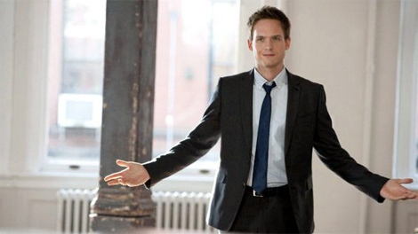 Patrick J. Adams in 'Suits'