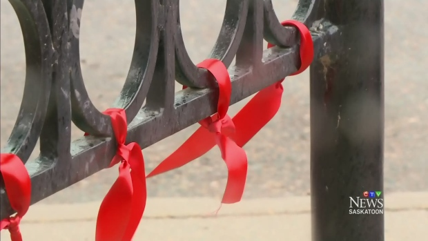 CTV Saskatoon: Red ribbons for AIDS Awareness