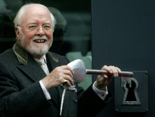 Richard Attenborough at Unicorn Theatre