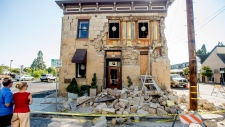 Earthquake in Napa, California