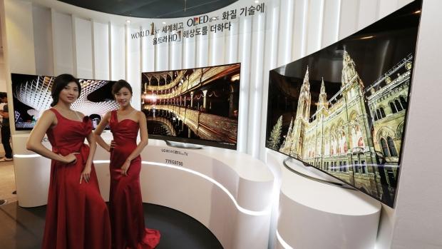 LG Electronics' OLED TVs