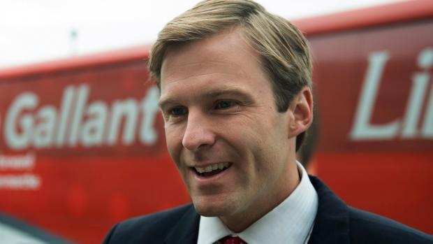 New Brunswick Liberal leader Brian Gallant