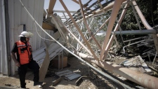 Israeli airstrike near Gaza border crossing