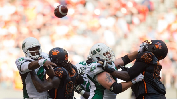 Roughriders beat Lions