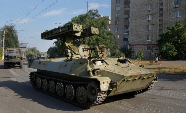 Russian weapons convoy