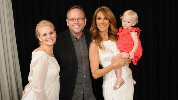 Richard Dunn and Celine Dion