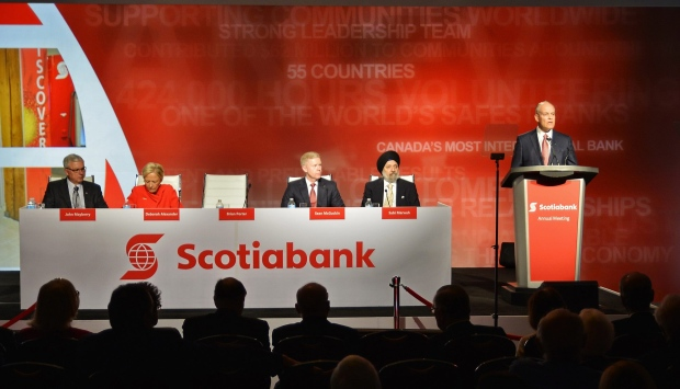 Scotiabank annual shareholders' meeting