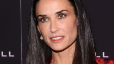 Demi Moore attends the premiere of 'Margin Call' on Monday, Oct. 17, 2011, in New York. (AP / Peter Kramer)