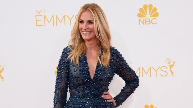 Julia Roberts at the Emmy Awards