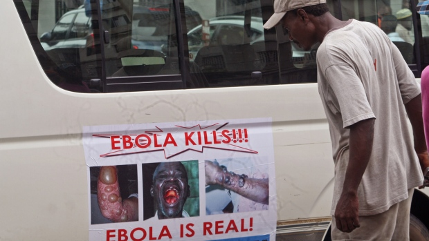 Warning on the deadly Ebola virus in Liberia