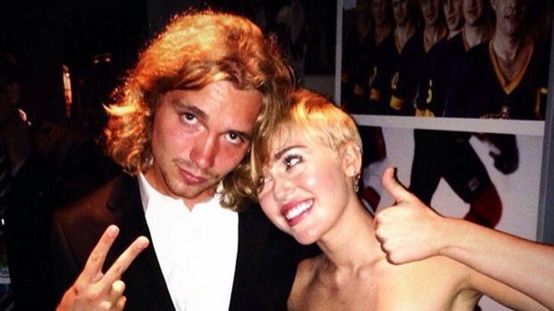 Miley Cyrus' MTV date
