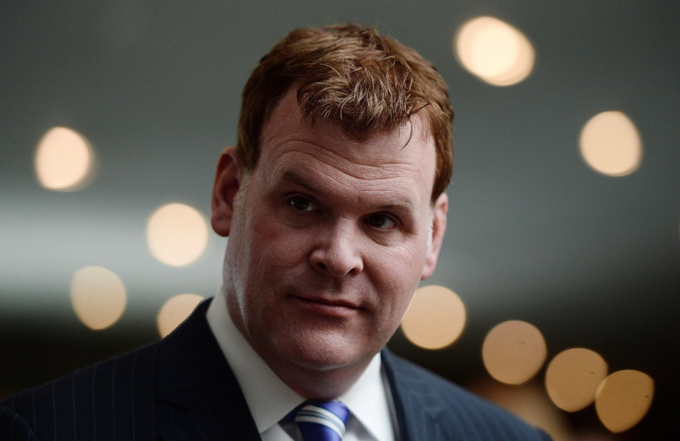 Minister of Foreign Affairs John Baird takes part in an event at the National War Museum in Ottawa on May 12, 2014. (The Canadian Press/Sean Kilpatrick)