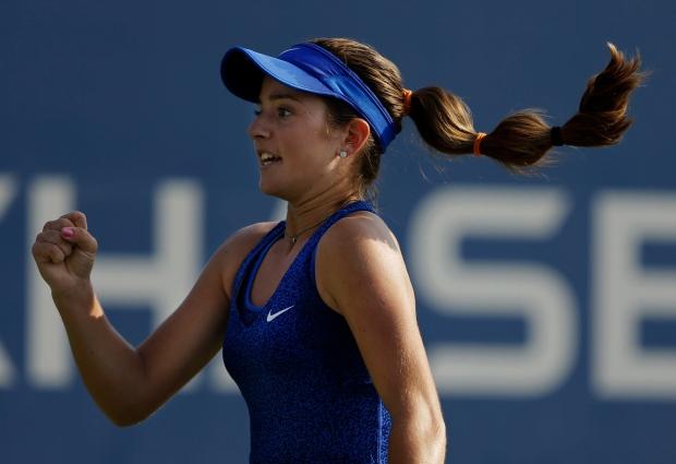 CiCi Bellis at U.S. Open