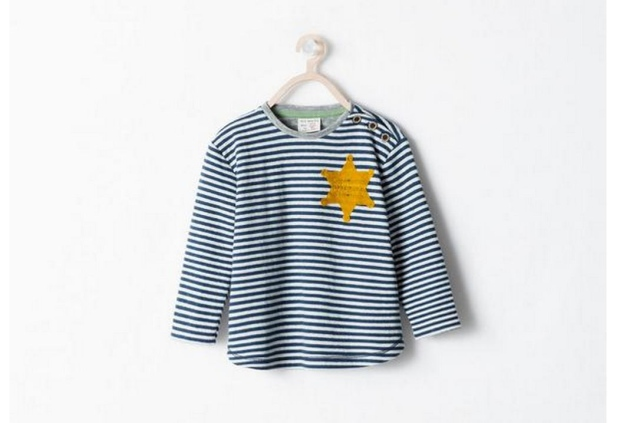 Zara under fire for kids' shirt resembling Holocaust uniform