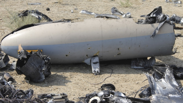 Drone reportedly downed in Iran