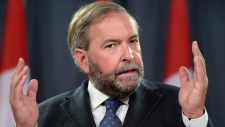 Mulcair comments on indigenous women inquiry