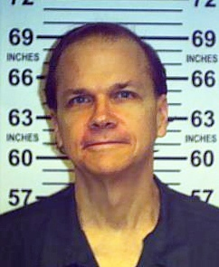 This photo provided by the New York State Department of Corrections shows Mark David Chapman at the Wende Correctional Facility in Alden, N.Y., June 1, 2013. (AP / New York State Department of Corrections)