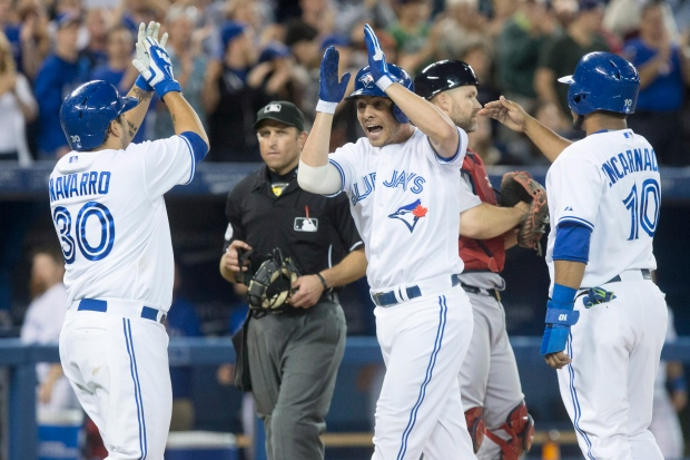 Jays play Red Sox