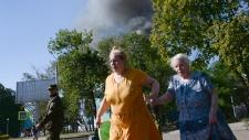 Ukraine town under rebel control