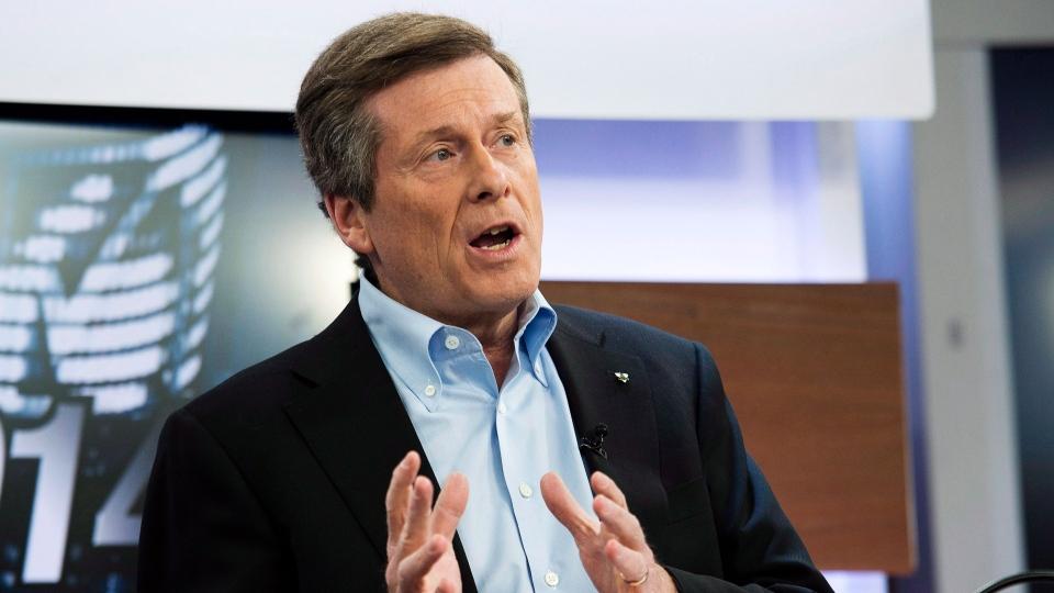 John Tory leading Toronto mayoral race