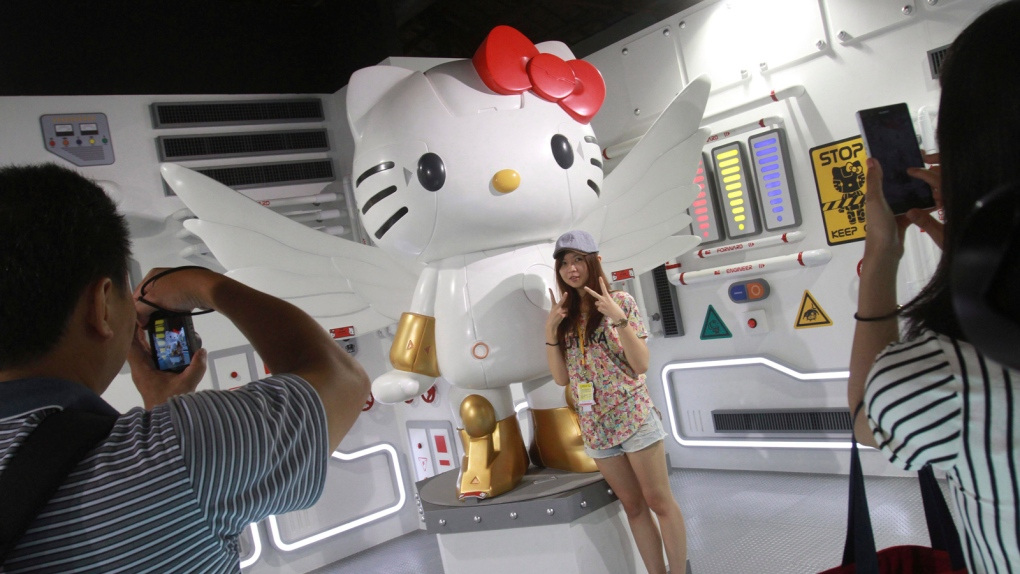 Hello Kitty bombshell news