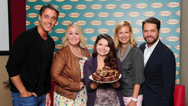 Tim Hortons prize-winning doughnut
