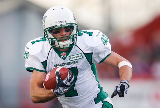 Saskatchewan Roughriders Weston Dressler