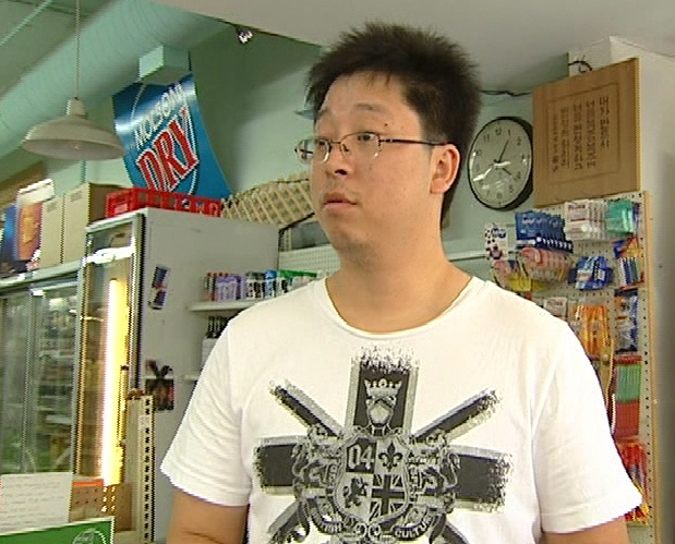This convenience store owner was stunned when CTV told him he was serving recalled meat products on Wednesday, Sept. 3, 2008.