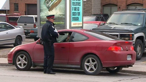 Toronto Police kick of 'Operation Safe Commute', a crack down on drivers who block lanes during rush hours.
