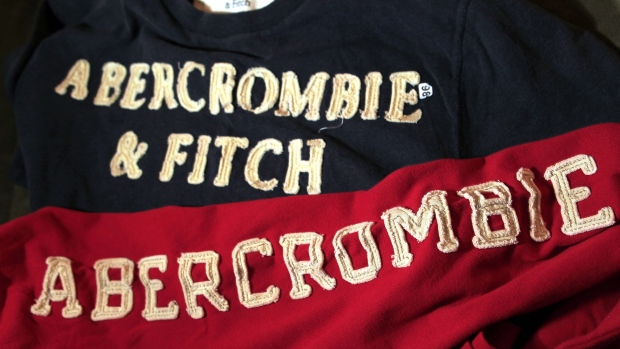 Abercrombie & Fitch drops logo on clothes